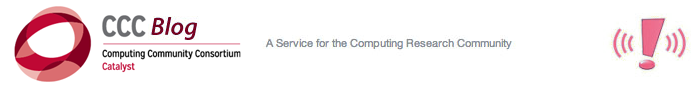 The Computing Community Consortium Blog